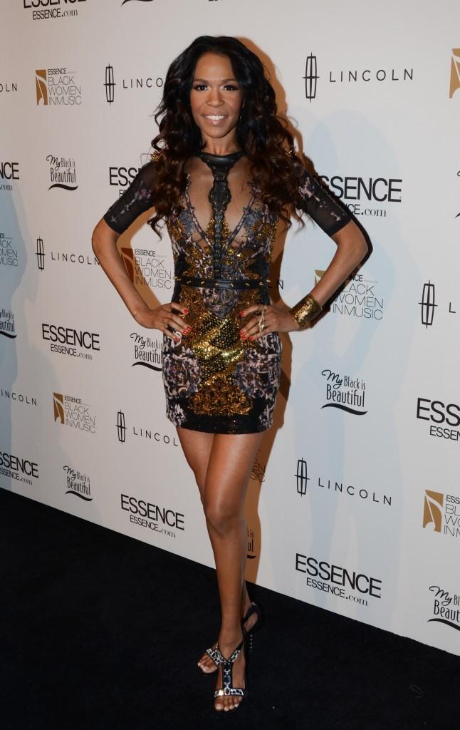 Michelle Williams lors de la soirée Black Women in Music pre-Grammy event à Los angles, le 9 février 2012.