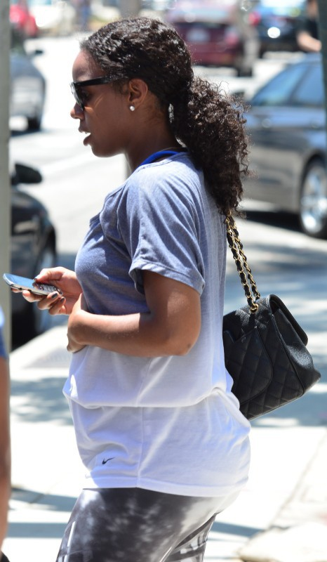 Kelly Rowland dans les rues d'Hollywood, le 7 juillet 2014