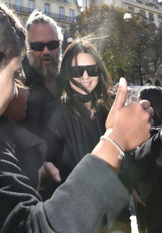 Kendall Jenner à Paris le 29 septembre 2015