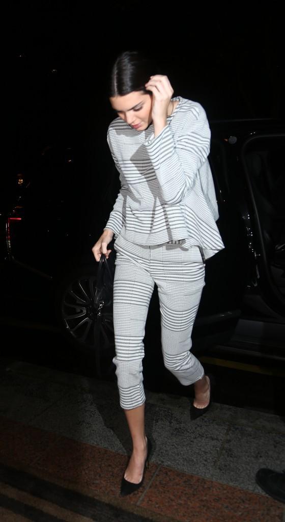 Kendall Jenner à Paris le 24 septembre 2014