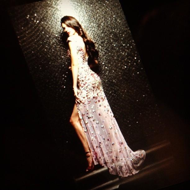 Kendall dans sa robe sublime