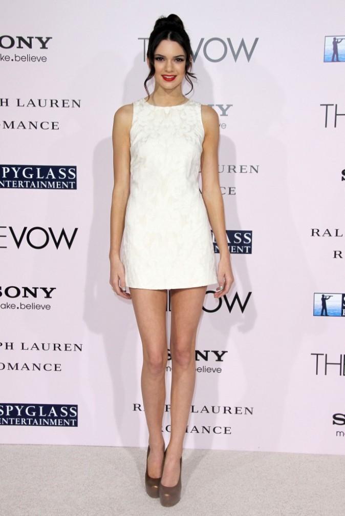 Kendall Jenner lors de la première du film The Vow à Hollywood, le 6 février 2012.
