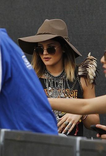 Kylie Jenner à Indio le 18 avril 2014