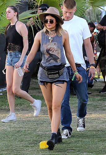 Kylie Jenner à Indio le 11 avril 2014