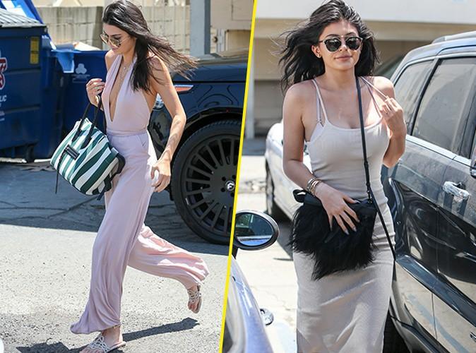 Kendall et Kylie Jenner le 16 juillet 2015