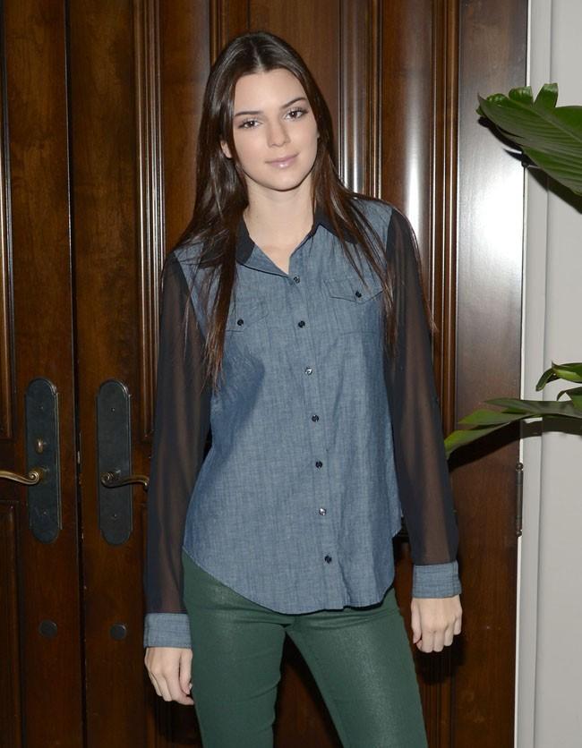 Kendall Jenner le 24 octobre 2012 à Los Angeles