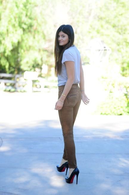 Kylie Jenner le 24 octobre 2012 à Los Angeles
