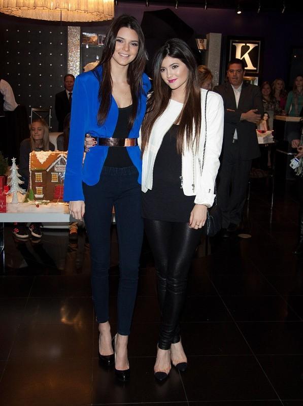 Kendall et Kylie Jenner, Las Vevas, 15 décembre 2012.