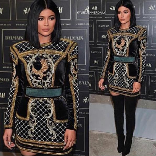 Kylie Jenner le 20 octobre 2015
