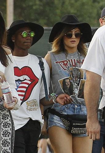 Kylie Jenner à Indio le 19 avril 2014