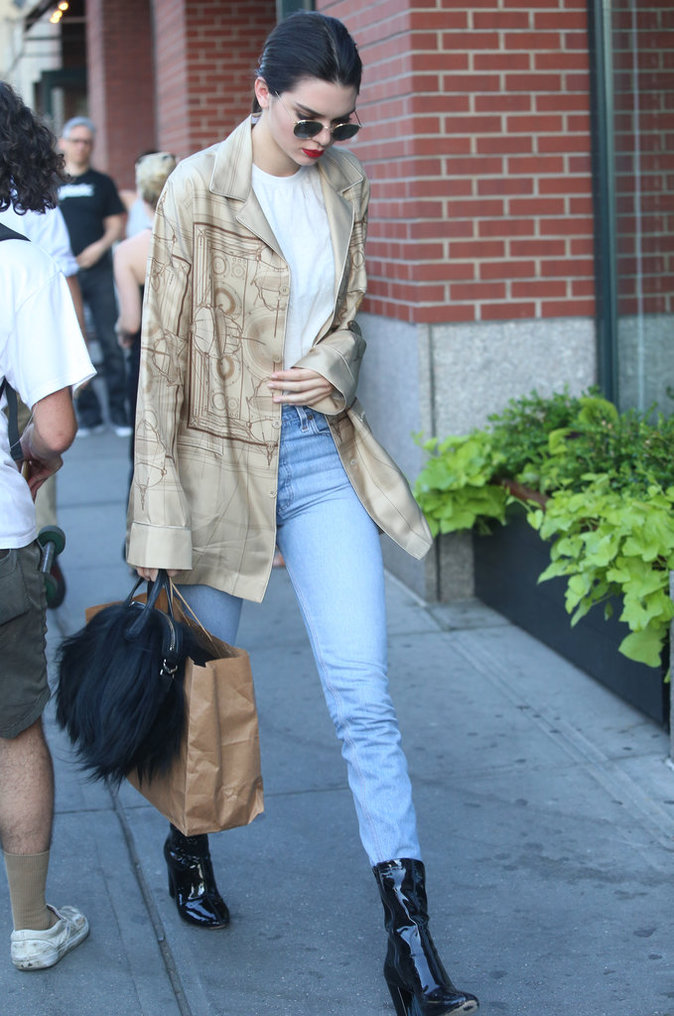 Kendall Jenner a le style dans la peau