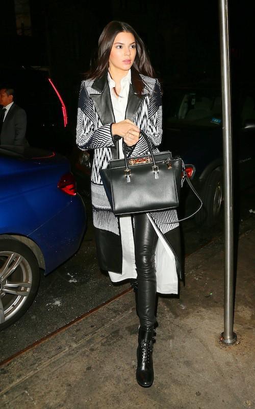 Photos : Kendall Jenner : beauté dark pour fêter les 20 ans de Gigi Hadid !