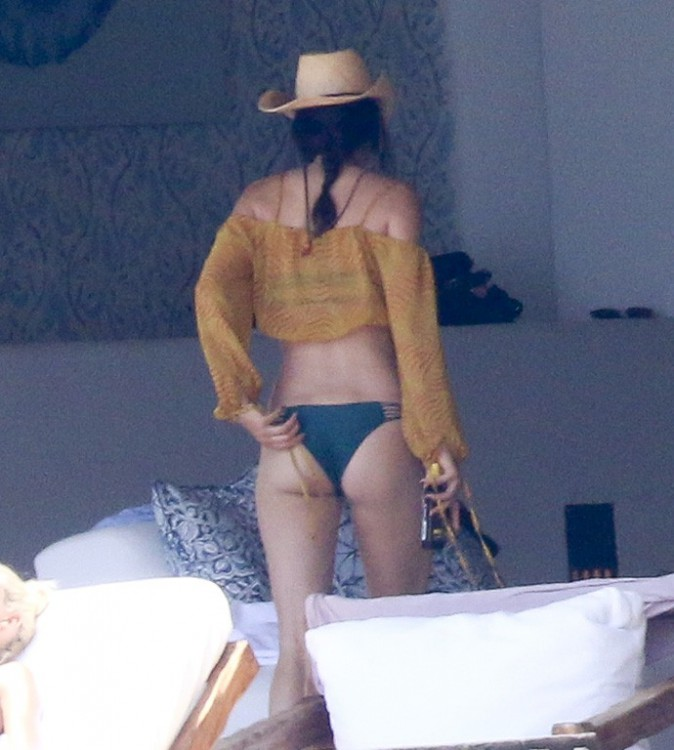 Kendall Jenner à Punta Mita le 13 août 2015