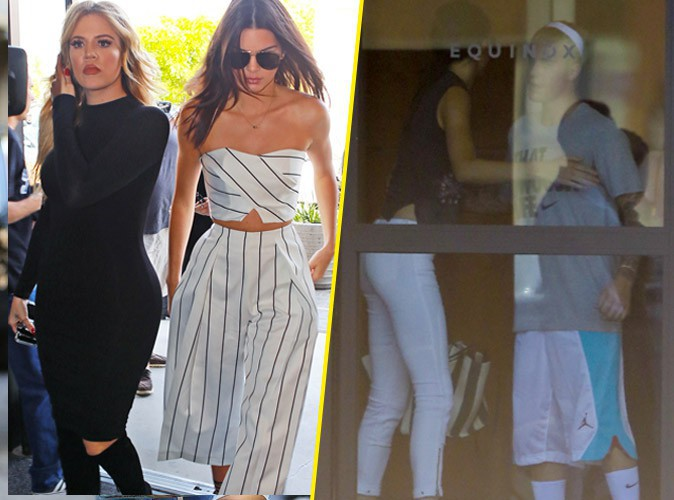 Photos : Kendall Jenner chic en famille et très tactile avec Justin Bieber !