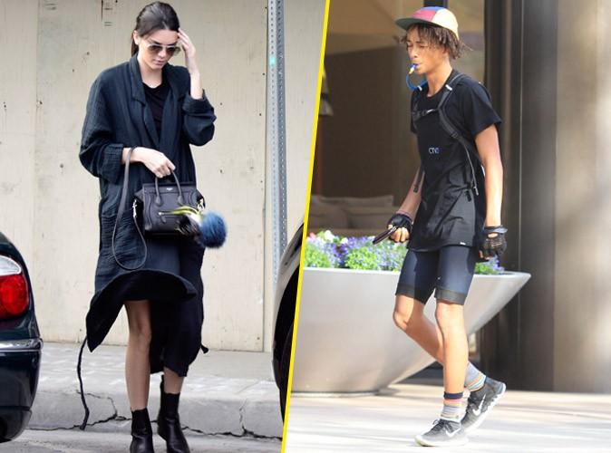 Kendall Jenner et Jaden Smith à Los Angeles le 14 octobre 2014