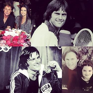 Kendall a posté un joli montage photo d'elle et de son papa !