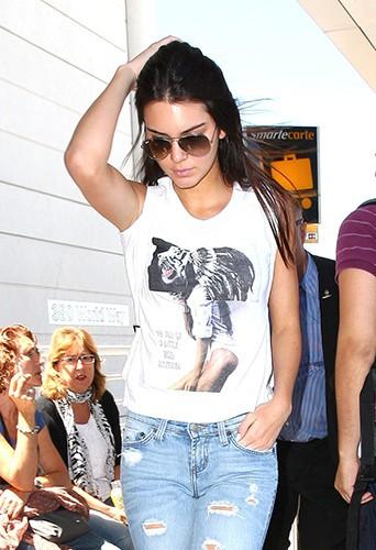 Kendall Jenner à Los Angeles le 17 août 2014
