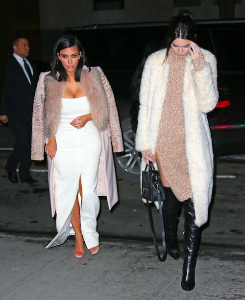 Photos : Kendall Jenner : encore plus sexy que Kim et Khloe en cuissardes !
