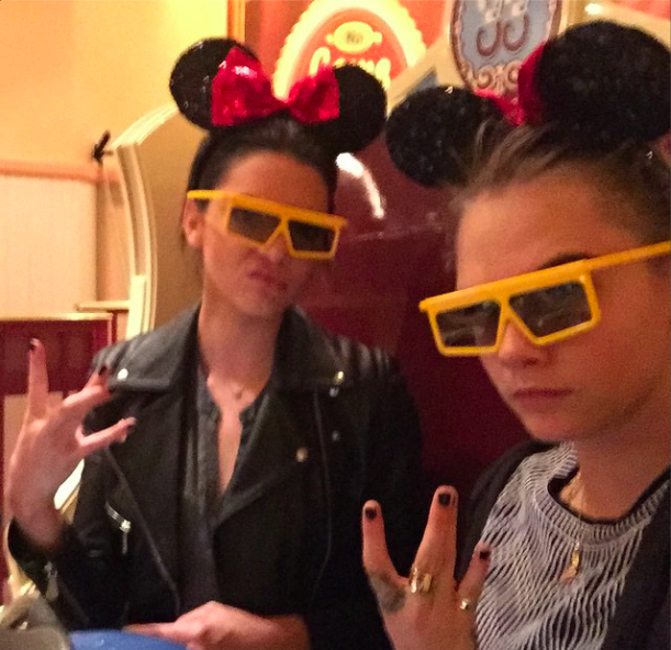 Kendall Jenner et Cara Delevingne : elles s'éclatent en Autriche !