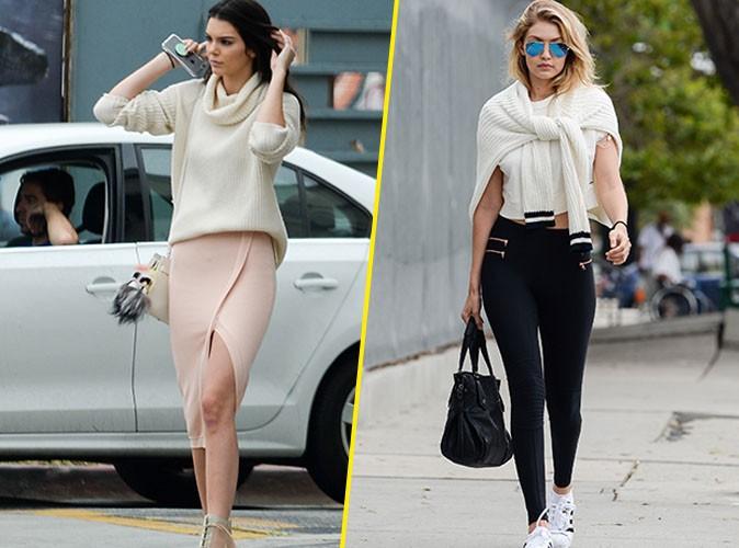 Kendall Jenner et Gigi Hadid le 13 juin 2015