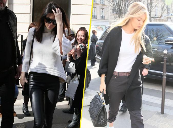 Kendall Jenner et Gigi Hadid : inséparables, les tops stylés sillonnent Paris ensemble !