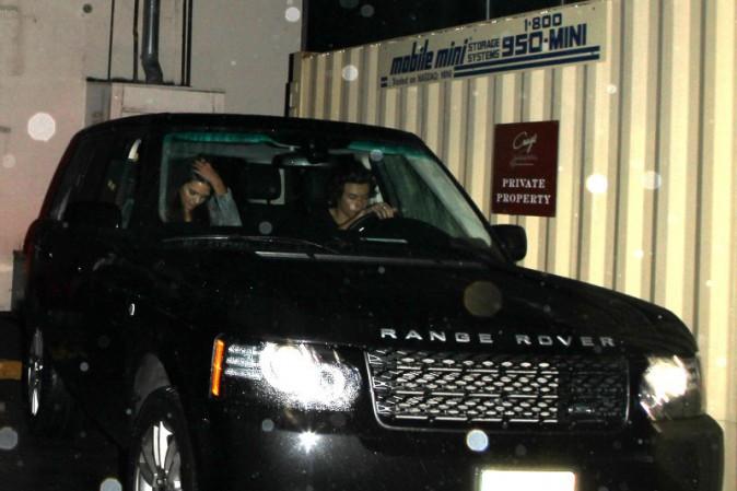 Kendall Jenner et Harry Styles en rendez-vous à West Hollywood, le 20 novembre 2013.