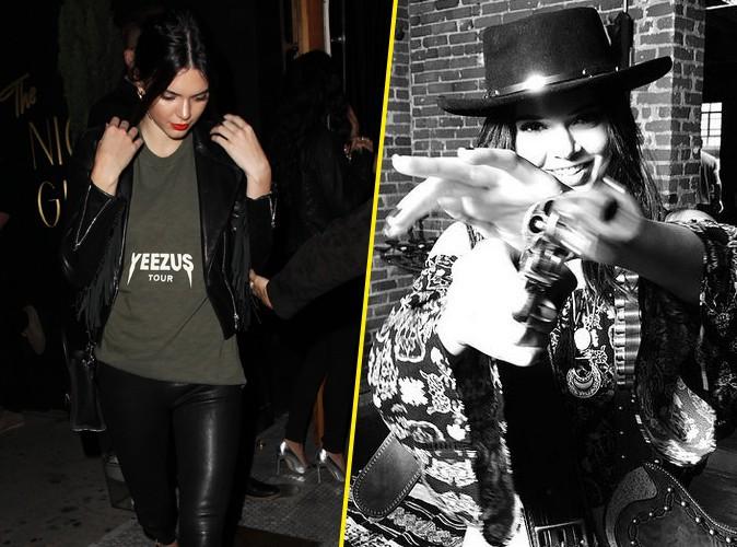 Photos : Kendall Jenner : flingue et cuir, elle se la joue bad girl !