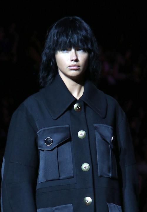 Adriana Lima défile pour Marc Jacobs le 11 septembre 2010, à New York