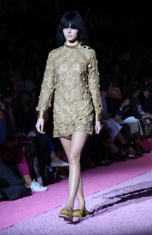 Kendall Jenner défile pour Marc Jacobs le 11 septembre 2010, à New York