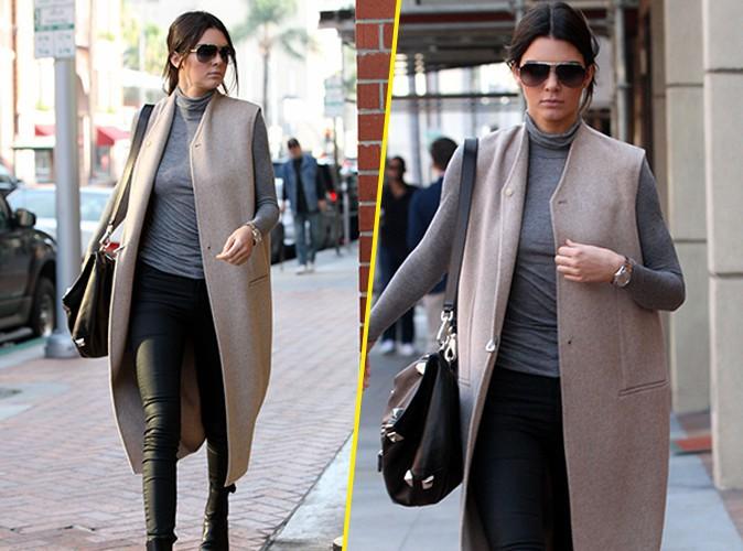Photos : Kendall Jenner : Kim Kardashian égoïste ? La top snobée !