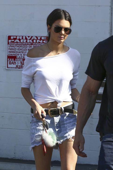 Kendall Jenner à Los Angeles le 27 juillet 2015