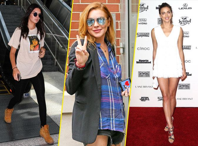 Kendall Jenner, Lindsay Lohan et Irina Shayk