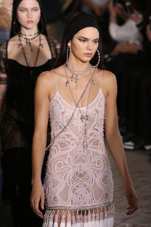 Kendall Jenner au défilé Givenchy, le 26 juin 2015 à Paris