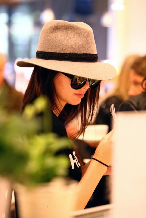 Kendall Jenner à Milan le 19 septembre 2014