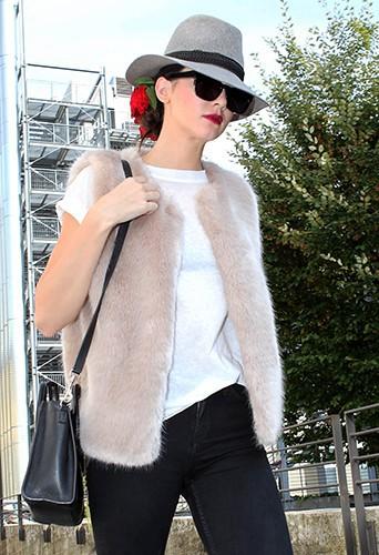 Kendall Jenner à Milan le 21 septembre 2014