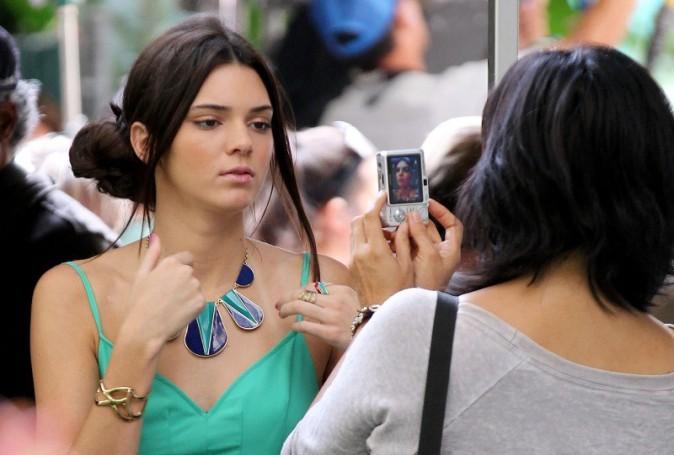 Kendall fait ses débuts d'actrice