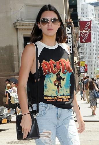 Kendall Jenner à New York le 3 juillet 2014