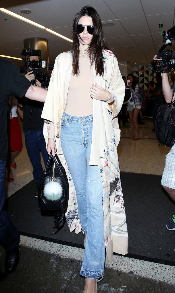 Photos : Kendall Jenner : Soulagée par le réveil de Lamar Odom, elle est rentrée à Los Angeles !