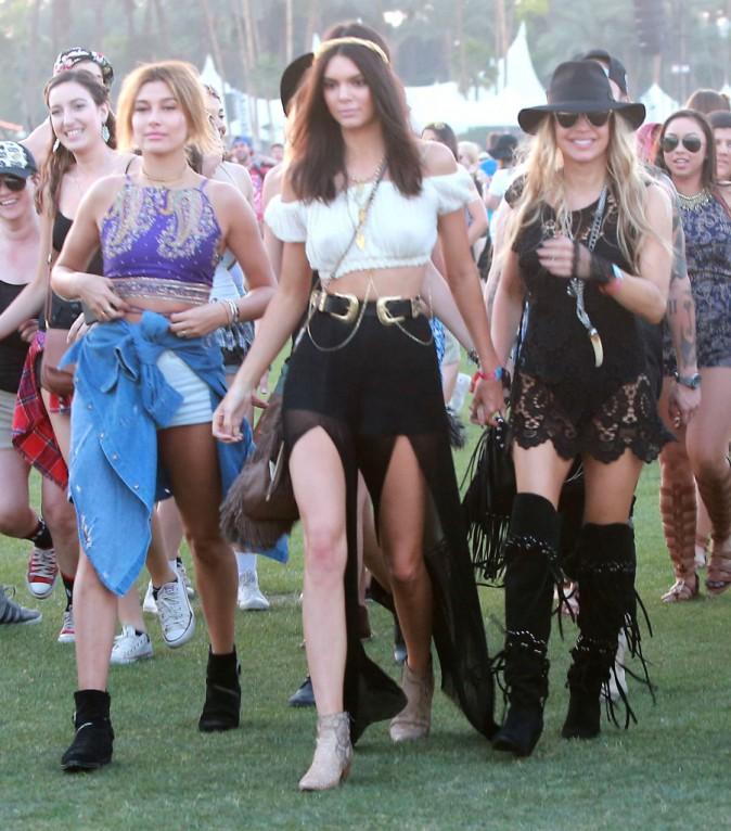 Photos : Kendall Jenner tétonnante : elle s'impose reine de Coachella !