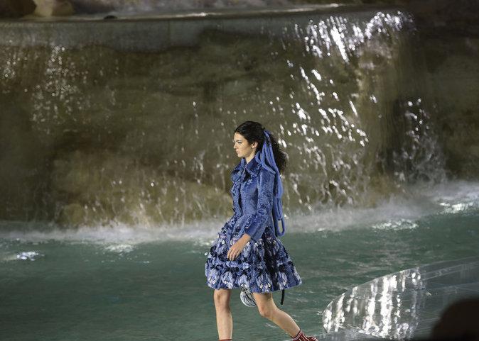 Kendall Jenner à Rome pour le défilé Fendi