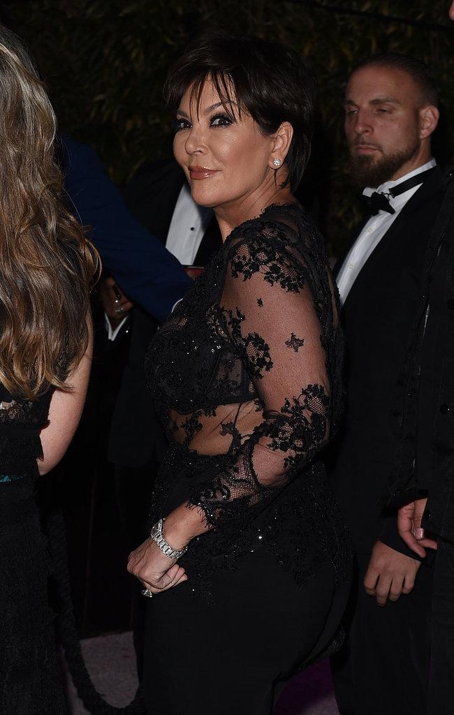 Kris Jenner à Cannes le 16 mai 2016