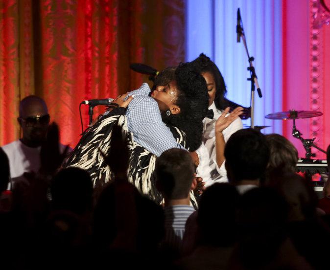 Photos : Kendrick Lamar séduit Malia Obama... sous les yeux de son père !