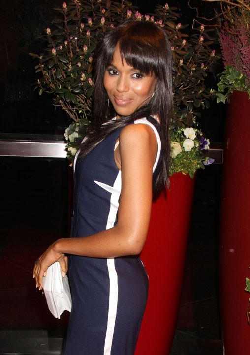 Grrr! Kerry Washington sort ses griffes !