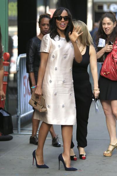 Kerry Washington en promo à New York, le 3 octobre 2013.