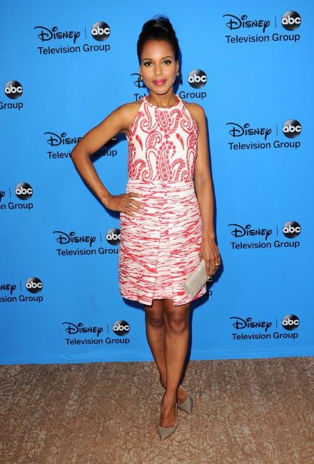 Kerry Washington lors de la soirée TCA's Summer Press Tour Disney/ABC party à Los Angeles, le dimanche 4 août 2013.