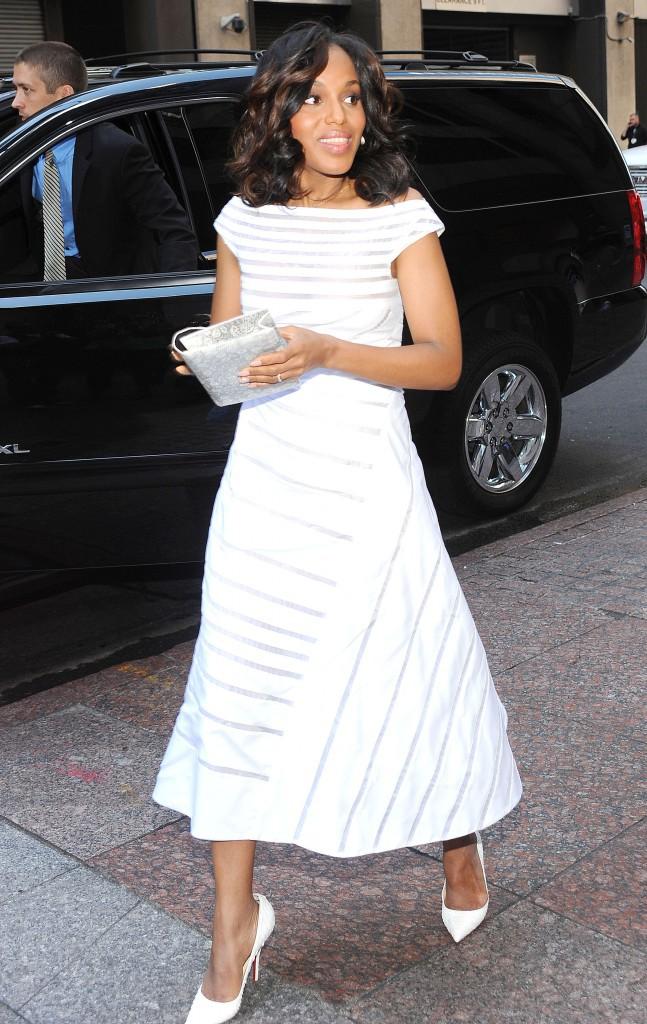 Kerry Washington au Paley Center de New-York le 2 octobre 2013