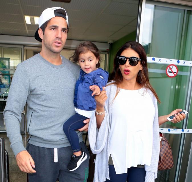 Photos : Cesc Fabregas passe du bon temps en famille à Cannes !