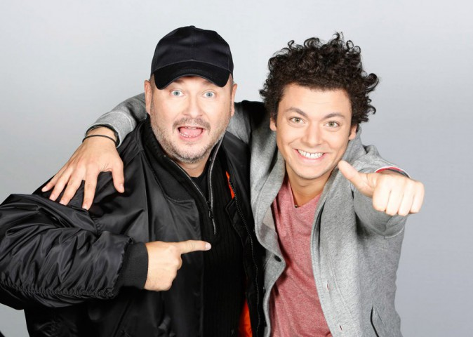 Kev Adams avec Cauet