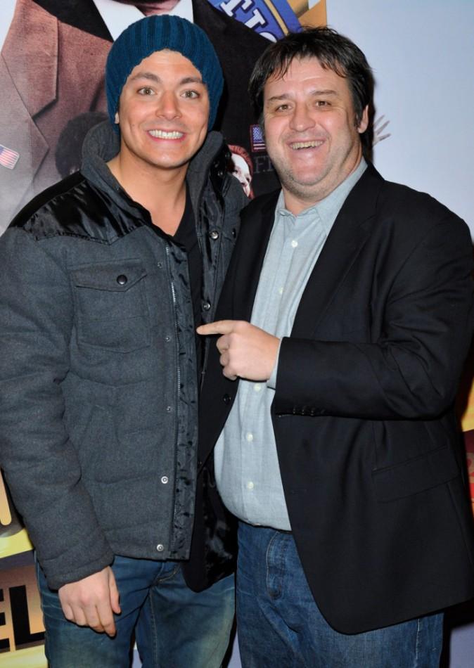 Kev Adams et Guy Lecluyse, son papa de télévision