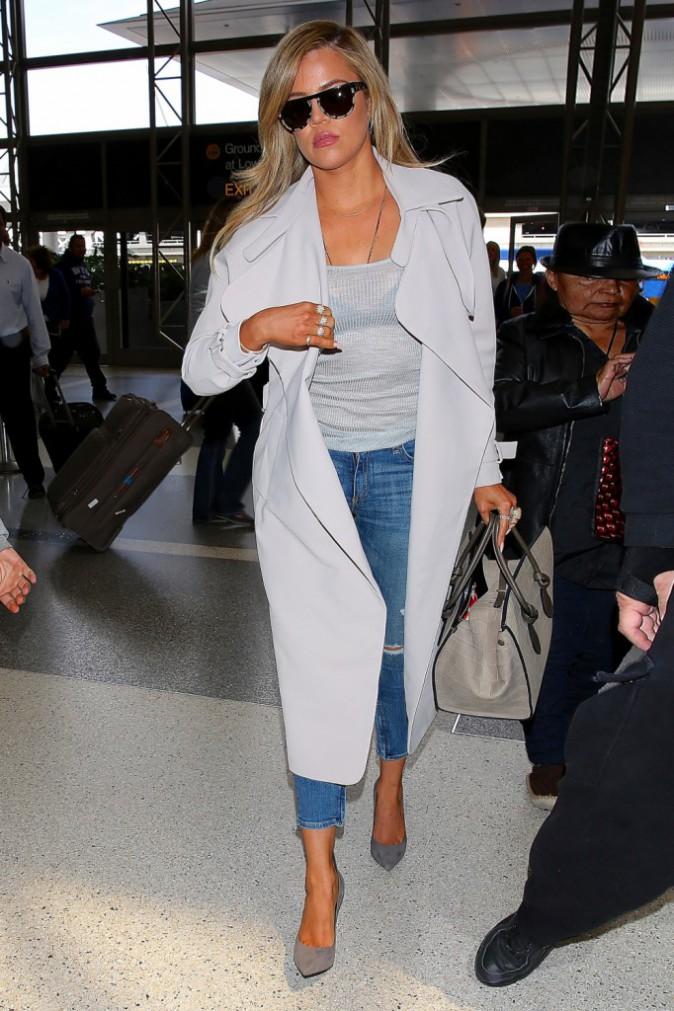 Khloe Kardashian le 7 avril 2015